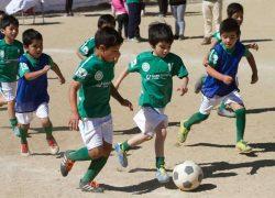0105 Kids playing football